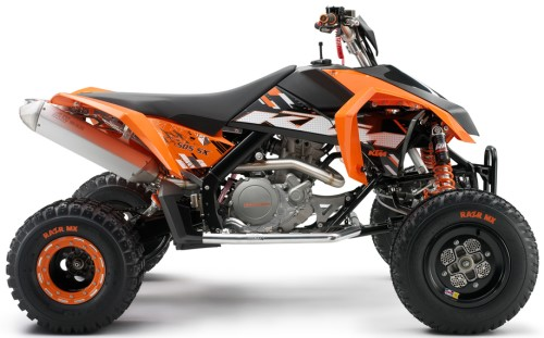 KTM SX 450 ATV, Orange