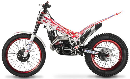 BETA EVO 125 Factory 2016, Rot