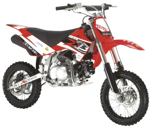 BETA R 125 4T 2007, Rot Fluo