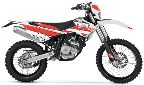 BETA RR 125 4T LC 2016, Weiss