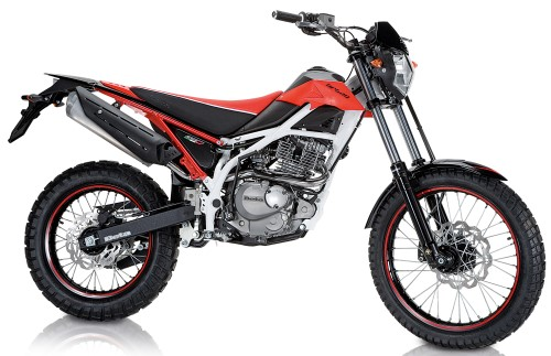 BETA Urban 125 Special 2016, Rot Fluo