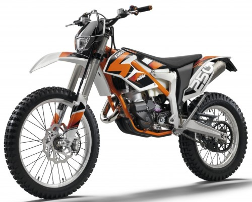KTM Freeride 250 R 2014, Orange
