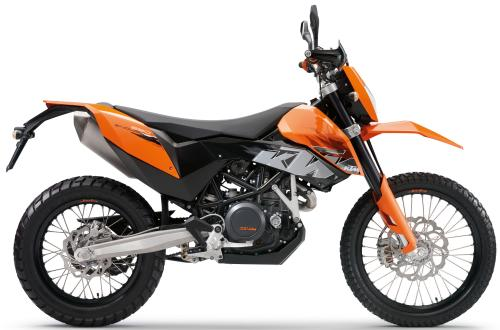 KTM LC4 690 Enduro 2008, Orange