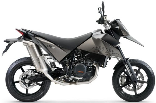 KTM LC4 690 SuperMoto R 2007, Anthrazit