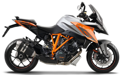 KTM LC8 1290 SuperDuke GTA 2016, Orange