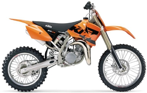 KTM SX 85 (17/14 Zoll-Felgen) 2004, Orange