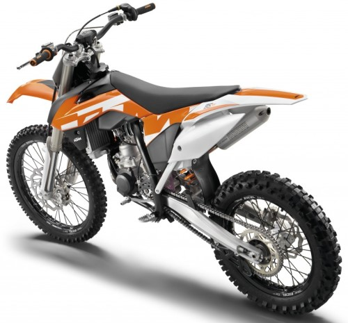 KTM SX 85 (19/16 Zoll-Felgen) 2016, Orange