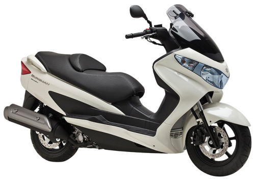 SUZUKI UH 125 Executive 2013, Weiss