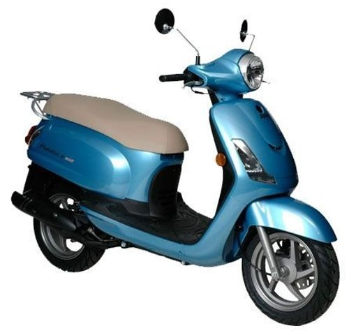 SYM Fiddle II 50 2010, Blau
